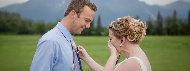 Regalo di nozze: sposa incontra l'uomo che ha il cuore del figlio defunto