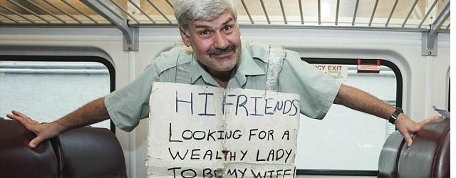 Disoccupato cerca moglie ricca