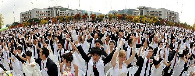I coreani preferiscono sposarsi in massa