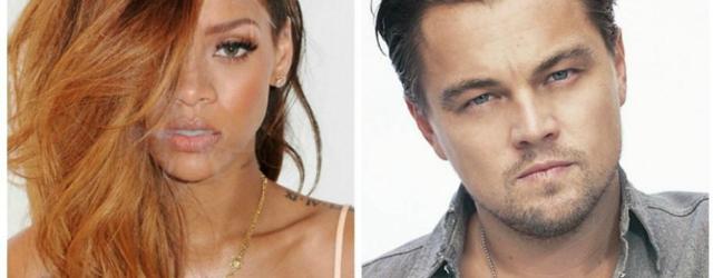 Notte da flirt per Leonardo Di Caprio e Rihanna