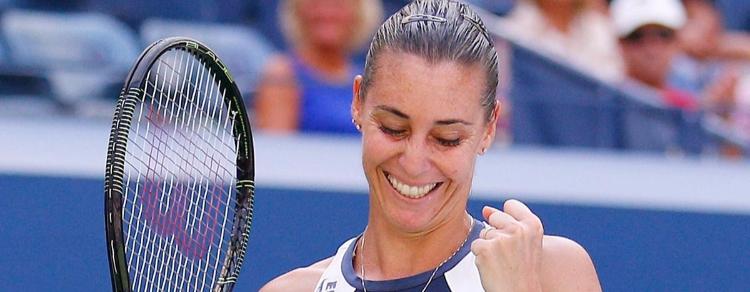 Flavia Pennetta: addio tennis benvenuto amore