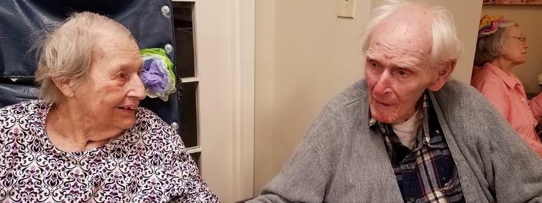 Conosciuti ad un incontro al buio, muoiono insieme dopo 71 anni di matrimonio