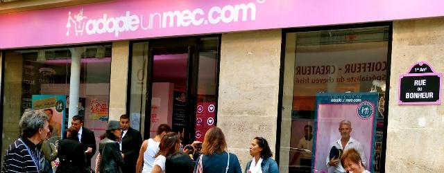 Adopte un mec: nuovo negozio parigino che vende