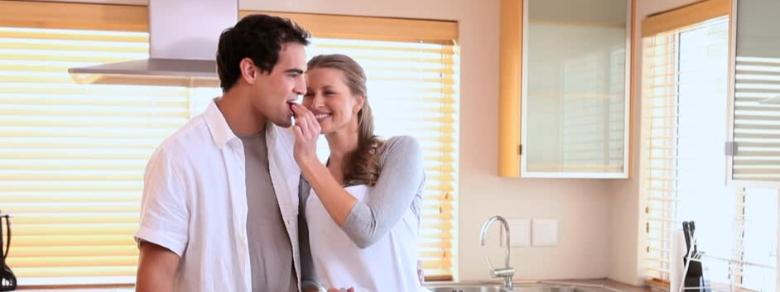 Come il cibo svela la vostra affinità di coppia