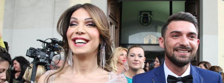 ll matrimonio di Alessia, la prima sposa trans d'Italia