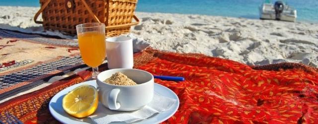 Pic-nic in spiaggia: un modo ottimale per sedurre