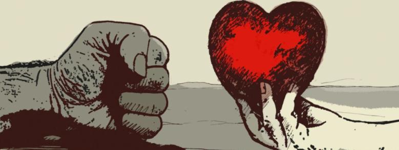 Amore e violenza, i risultati contrastanti dell'indagine Eurispes