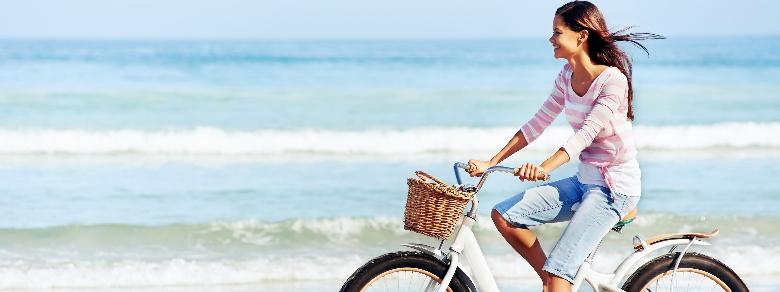 Le donne che pedalano hanno più rapporti intimi